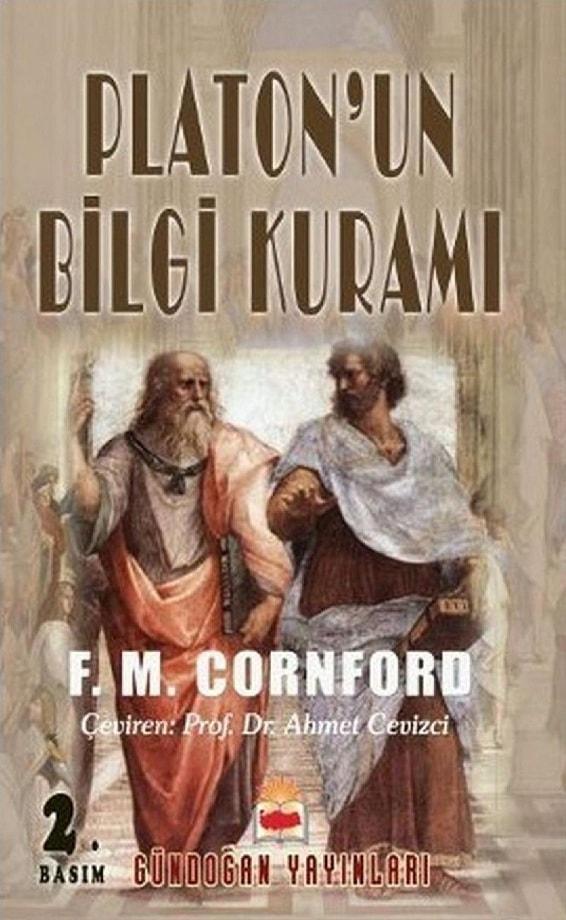 F. M. Cornford. Platon'un bilgi kuramı (1989)