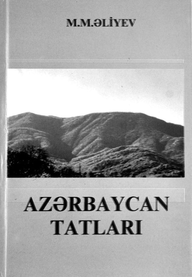 Əliyev M. M. Azərbaycan tatları (2006)