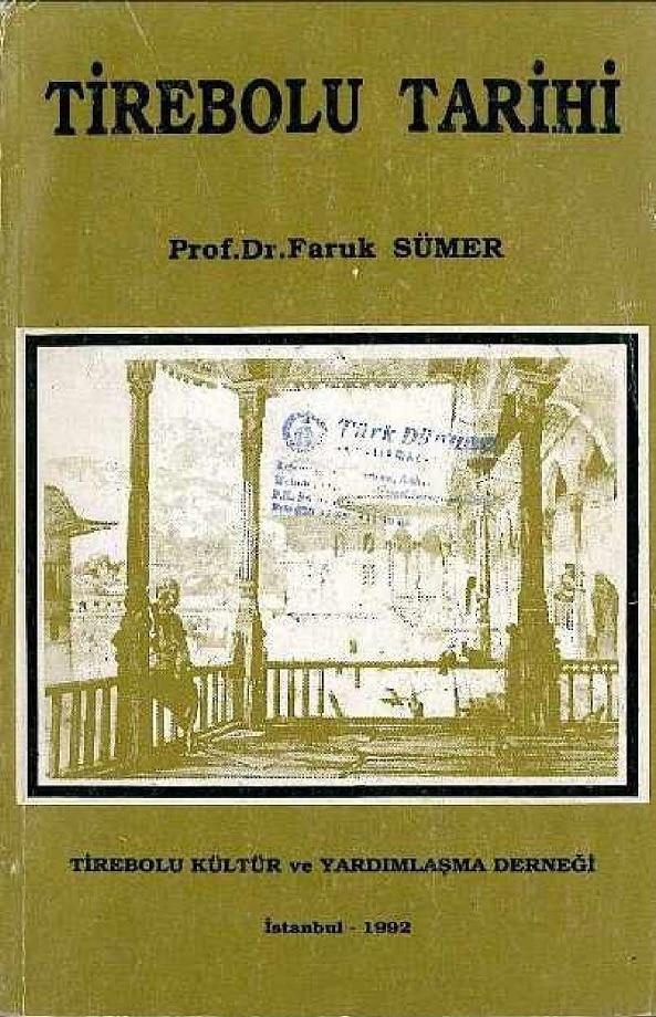 Faruk Sümer. Tirebolu tarihi (1992)