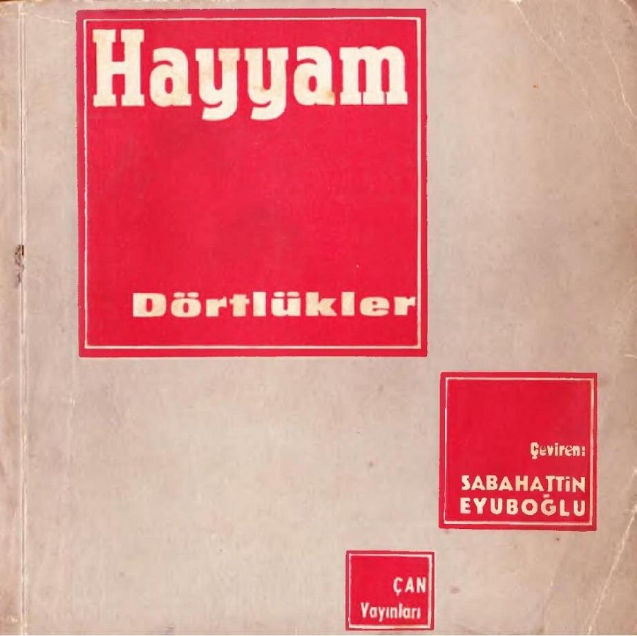 Ömer Hayyam. Dörtlükler (1961)