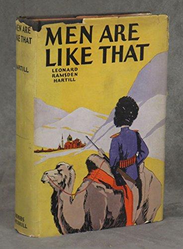 Leonard Ramsden Hartill. Men are like that (1928)